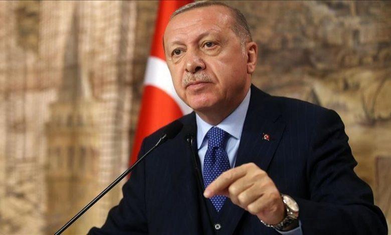 تحركات أردوغان في سوريا