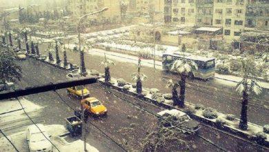صورة انخفاض في درجات الحرارة وهطولات ثلجية.. توقعات حالة الطقس في سوريا خلال الأيام القادمة!