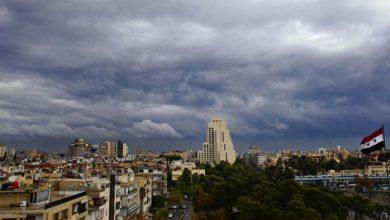 صورة حالة الطقس المتوقعة في سوريا.. درجات الحرارة إلى ارتفاع ومنخفض جوي جديد مع نهاية الأسبوع!