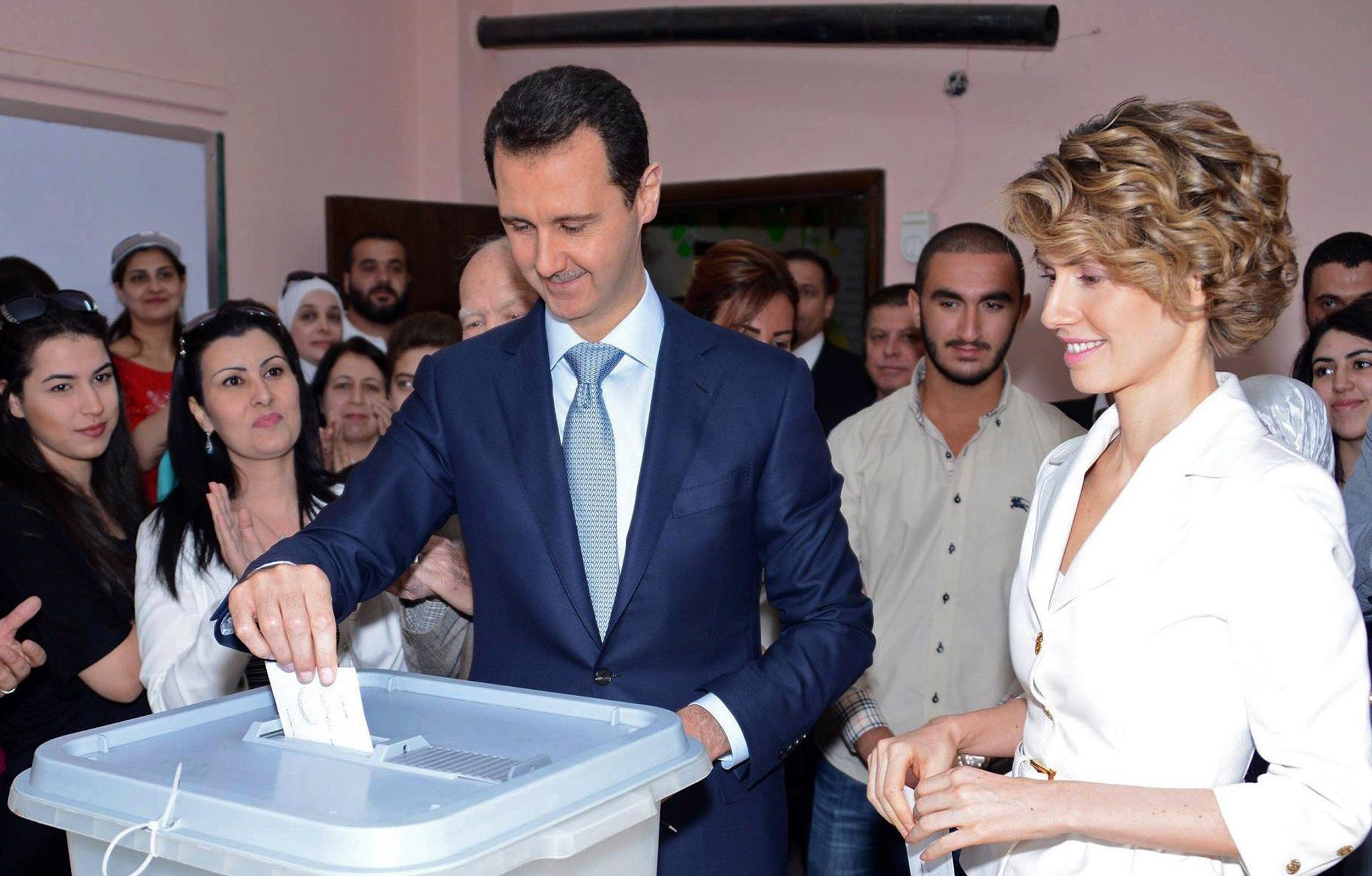 ترشح قيادي معارض لمنافسة بشار الأسد