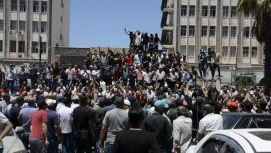 """صورة """"لا تترشح يا مشرشح"""".. حراك ضد بشار الأسد في محافظة السويداء (صورة)"""