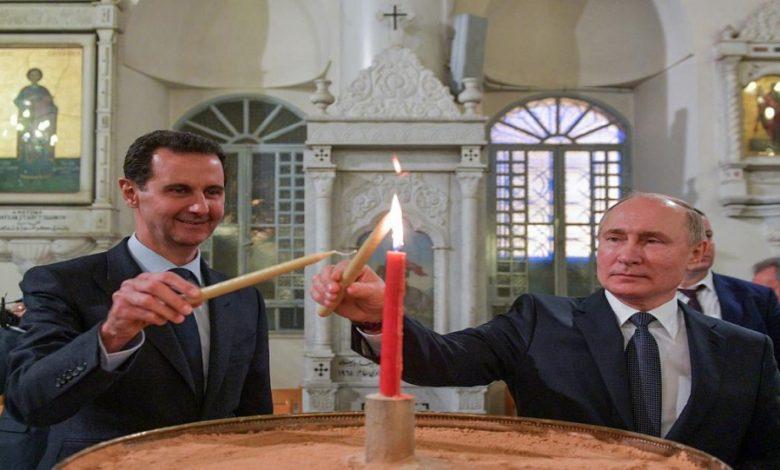 خطة روسية انتخابات الرئاسة في سوريا