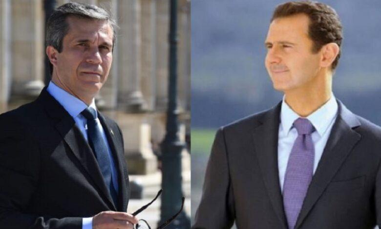 فهد المصري بشار الأسد