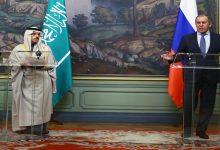 صورة لافروف يتحدث عن موقف سعودي جديد وتبلور رؤية مشتركة بين روسيا والسعودية بشأن الملف السوري!