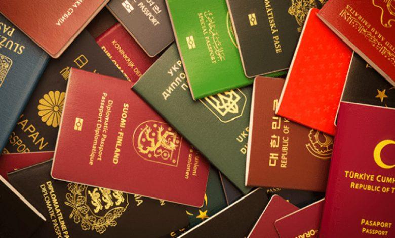 قائمة أقوى جوازات السفر في العالم