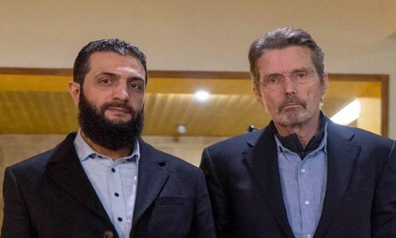 الجولاني الترشح لانتخابات الرئاسة