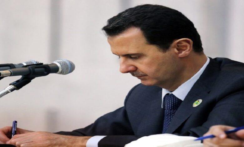 القيادة الروسية بشار الأسد
