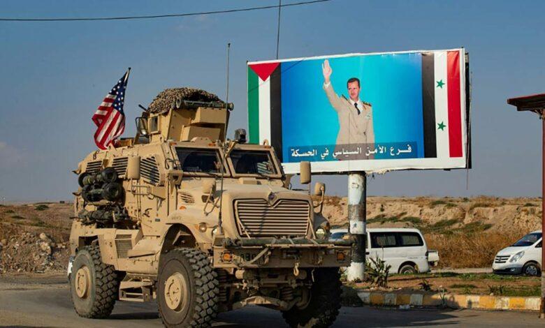 بايدن القوات الأمريكية سوريا