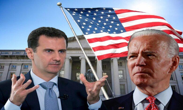 بايدن ضد بشار الأسد
