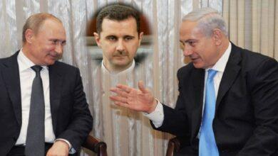 """صورة بمساعدة بوتين.. بشار الأسد يقدم خدمة جديدة لـ""""نتنياهو"""" وباحث روسي يتحدث عن المقابل!"""
