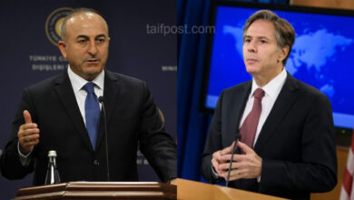 """صورة """"تعهد بشأن الحل في سوريا"""".. ماذا دار في أول اتصال بين وزير الخارجية الأمريكي الجديد ونظيره التركي؟"""