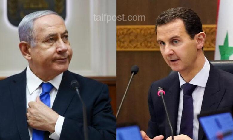 صفقة بين بشار الأسد وتل أبيب