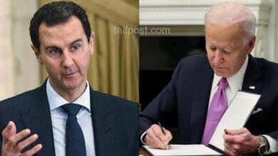 """صورة يحمل اسم """"برابندي"""" ويعزز """"قيصر"""".. قانون أمريكي جديد لتحقيق أقصى ضغط على بشار الأسد ونظامه!"""