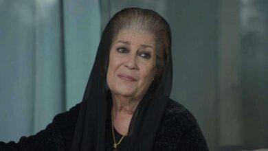 """صورة """"أنا بردانة"""".. منى واصف تخرج عن صمتها وتتحدث عن تردي الوضع الاقتصادي والمعيشي في سوريا"""