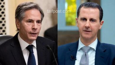 """صورة لأول مرة منذ توليه منصبه.. وزير الخارجية الأمريكي يتخذ موقفاً حاسماً من """"بشار الأسد"""" متحدثاً عن مصيره!"""