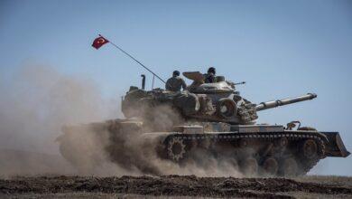 """صورة الجيش الوطني يتقدم في محيط مدينة """"عين عيسى"""" بدعم تركي.. وبيان هام لوزارة الدفاع التركية!"""