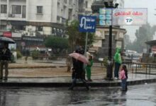 صورة توقعات الطقس في سوريا.. حالة ماطرة متوسطة الفعالية تبدأ الاثنين ومنخفض بتأثيرات قطبية نهاية الأسبوع!