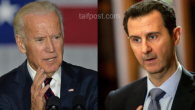 """صورة """"بايدن"""" يدعو لإيجاد حل سريع في سوريا ويضع بشار الأسد أمام خيارين أحلاهما مر!"""