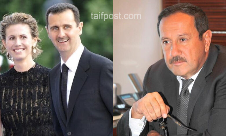 بشار الأسد فراس طلاس