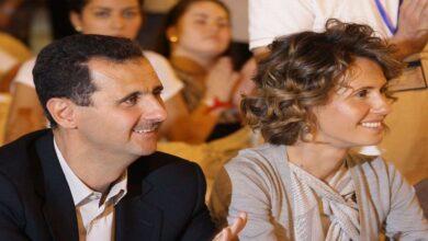 """صورة بيان صادر عن """"الرئاسة السورية"""" يروي تفاصيل إصابة بشار الأسد وزوجته بفيروس كورونا"""