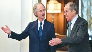"""صورة الخارجية الروسية تتحدث عن تسوية شاملة في سوريا و""""بيدرسون"""" يؤكد وجود مؤشرات إيجابية!"""