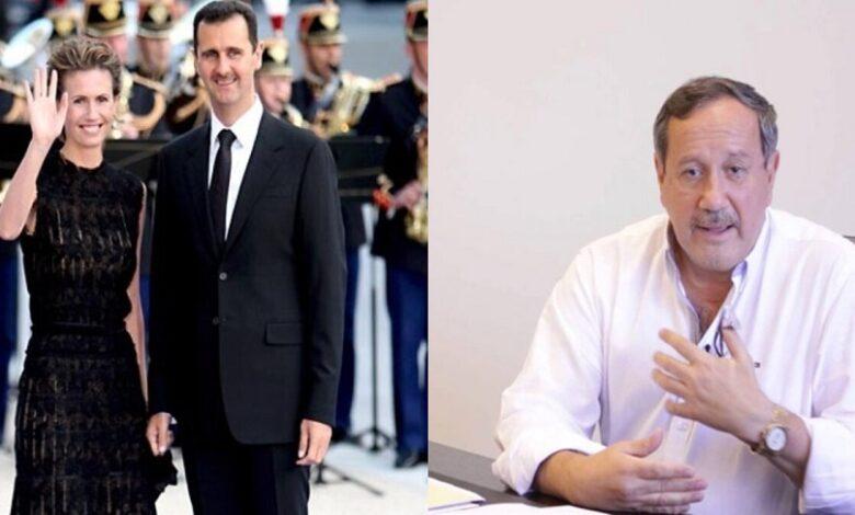 فراس طلاس معلومات حول بشار الأسد