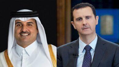 صورة بعد الموقف السعودي.. قطر تتخذ موقفاً حاسماً من عودة نظام الأسد إلى الجامعة العربية!
