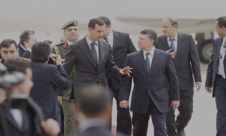 العلاقات بين الأردن ونظام الأسد