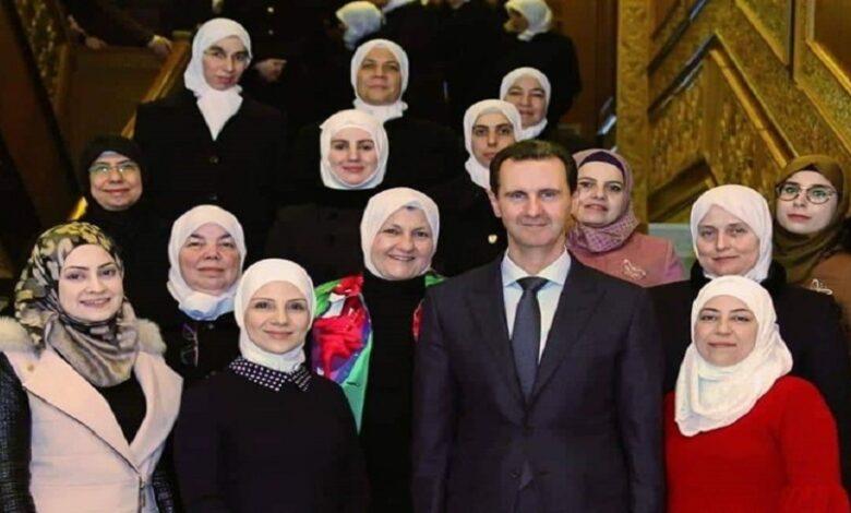 القبيسيات بشار الأسد
