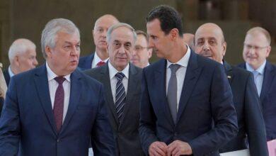 """صورة مبعوث """"بوتين"""" حمل رسالة """"شديدة اللهجة"""" من القيادة الروسية إلى بشار الأسد.. ماذا تضمنت؟"""