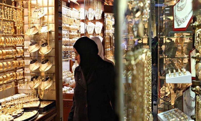 انخفاض السعر الرسمي الذهب سوريا
