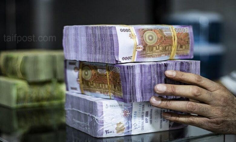 انخفاض بقيمة الليرة السورية الدولار