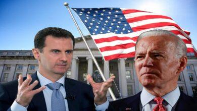 """صورة مجلة أمريكية تدعو """"بايدن"""" للتحرك في سوريا وتحذره من انقلاب الموازين مجدداً لصالح الأسد"""