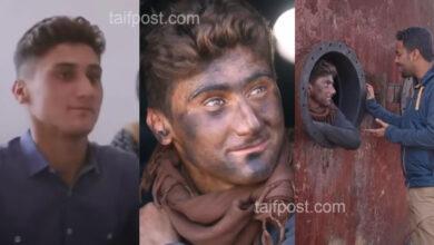 """صورة بمبادرة من برنامج """"عمران"""".. الشاب السوري الذي أبهر الجميع بصوته يعود إلى مقاعد الدراسة (فيديو)"""