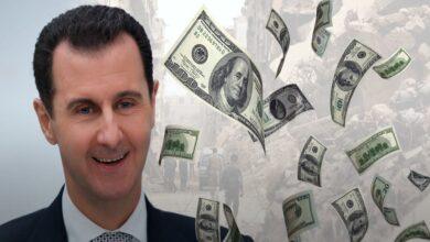 """صورة """"بروباغندا النظام السوري"""": بشار الأسد أغنى وأذكى رجل في العالم!"""