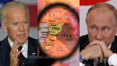 صورة بوتين يتحدى بايدن في سوريا.. إجراء روسي إيراني مشترك لدعم نظام الأسد اقتصادياً