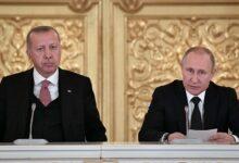 """صورة """"أوكرانيا وسوريا"""".. الرئاسة الروسية تنشر تفاصيل المباحثات بين بوتين وأردوغان بشأن المسائل الثنائية الملحة!"""