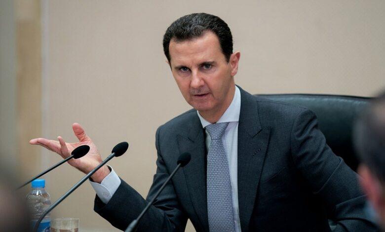 خطة بشار الأسد