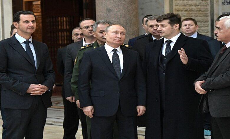 خطة بوتين للحل في سوريا