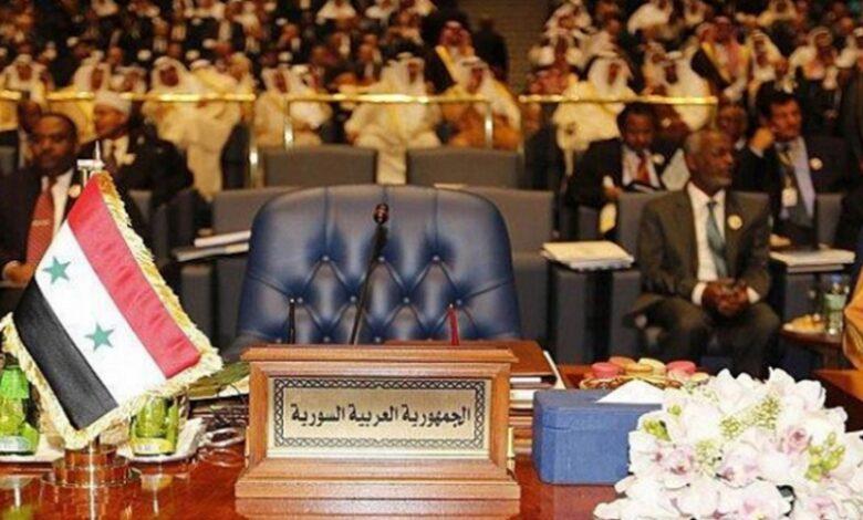 عودة لنظام الأسد إلى الجامعة العربية