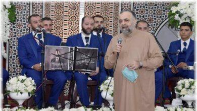 """صورة """"بمناسبة رمضان"""".. تحول الفرق الدينية في سوريا من مدح النبي محمدﷺ إلى مدح بشار الأسد (فيديو)"""