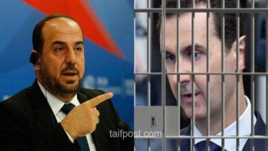 """صورة """"للمحاكمة لا للحكم"""".. نصر الحريري يتحدث عن مصير """"الأسد"""" وكثرة الكومبارس في مسرحية الانتخابات!"""