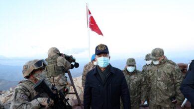 صورة بعد زيارته للمنطقة الحدودية.. وزير الدفاع التركي يدلي بتصريحات جديدة حول الأوضاع في سوريا