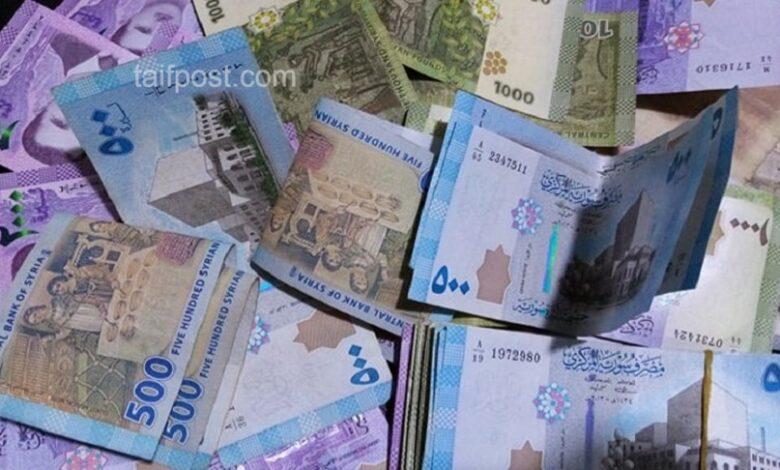 ارتفاع ملحوظ بقيمة الليرة السورية