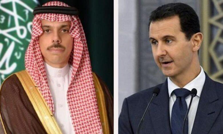 السعودية عودة العلاقات مع نظام الأسد