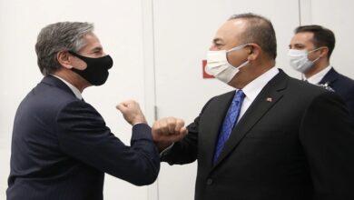 صورة وزير الخارجية الأمريكي ينقل رسالة هامة لنظيره التركي بشأن العلاقات بين واشنطن وأنقرة في المرحلة المقبلة!