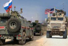 """صورة تزامناً مع تصريحات """"بايدن"""".. تحركات مكثفة للقوات الأمريكية شمال شرق سوريا والقيادة الروسية تعبّر عن قلقها"""