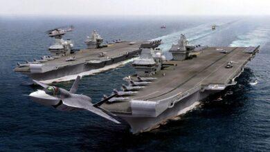 """صورة """"تطورات لافتة"""".. بريطانيا تحرك أسطولها العسكري نحو سوريا والعراق.. ما علاقة روسيا؟"""