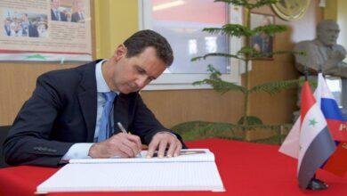 صورة استكمالاً لمسرحية الانتخابات.. بشار الأسد يركب موجة الحملات الانتخابية عبر مجموعة من القرارات!