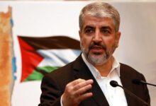 """صورة خالد مشعل يتحدث عن طبيعة علاقة """"حماس"""" بنظام الأسد وإيران ويوجه رسالة لإسرائيل بشأن الأوضاع في """"غزة"""""""